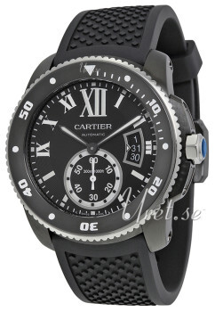 Cartier Calibre De Cartier Musta/Kumi Ø42 mm