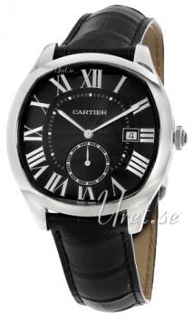 Cartier Drive De Cartier Musta/Nahka