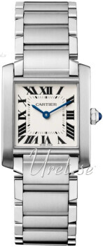 Cartier Tank Francaise Hopea/Teräs