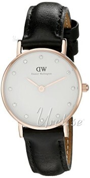 Daniel Wellington Classy Sheffield Rose Ø26 mm Antiikki valkoine