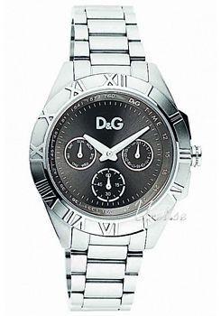 Dolce & Gabbana D&G Chamonix Musta/Teräs Ø39 mm