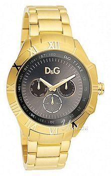Dolce & Gabbana D&G Chamonix Black Dial Bracelet