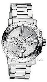 Dolce & Gabbana D&G Gentel Silver Dial Bracelet