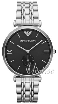 Emporio Armani Dress Musta/Teräs Ø40 mm