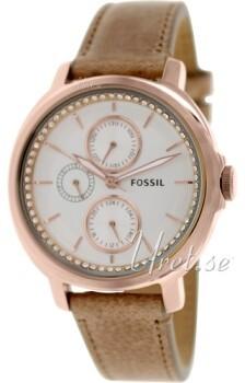Fossil Valkoinen/Nahka