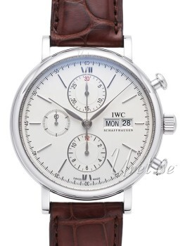 IWC Portofino Chronograph Hopea/Nahka Ø42 mm