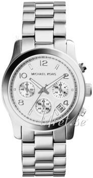 Michael Kors Chronograph Hopea/Teräs