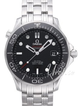 Omega Seamaster Diver 300m Co-Axial 41mm Musta/Teräs Ø41 mm