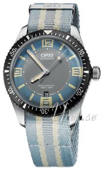 Oris Diving Monivärinen/Teräs