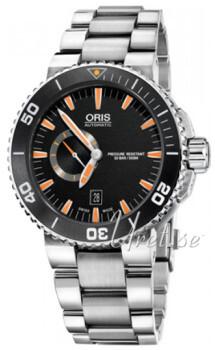 Oris Divers Musta/Teräs
