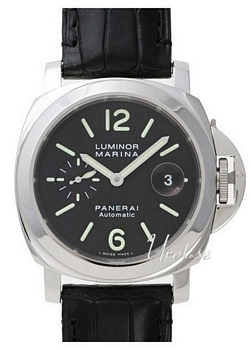Panerai Contemporary Luminor Marina Automatic Musta/Nahka Ø44 mm