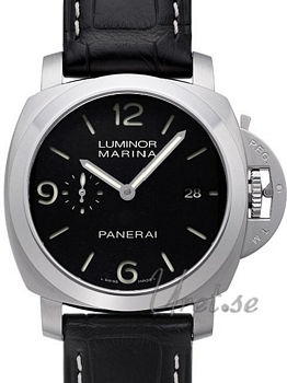 Panerai Contemporary Luminor 1950 3 Days Automatic Musta/Nahka Ø