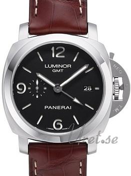 Panerai Contemporary Luminor 1950 3 Days GMT Automatic Musta/Nah