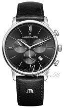 Maurice Lacroix Eliros Chronograph Musta/Nahka