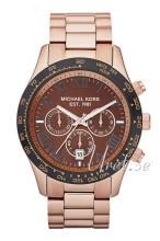 Michael Kors Layton Chronograph Ruskea/Punakultasävyinen
