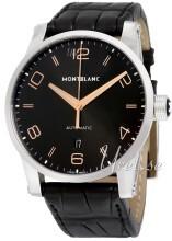 Montblanc Timewalker Musta/Nahka Ø42 mm