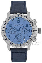 Nautica Chronograph Sininen/Nahka