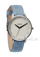 Nixon The Kensington Leather Valkoinen/Tekstiili