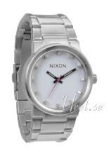 Nixon The Cannon Valkoinen/Teräs