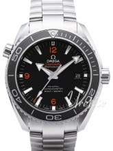 Omega Seamaster Planet Ocean 600m Co-Axial 45.5mm Musta/Teräs