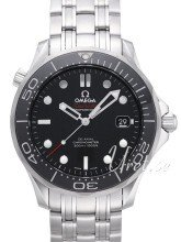 Omega Seamaster Diver 300m Co-Axial 41mm Musta/Teräs