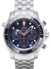 Omega Seamaster Diver 300m Co-Axial Chronograph 44mm Sininen/Ter