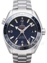 Omega Seamaster Planet Ocean 600m Co-Axial GMT 43.5mm Sininen/Ti