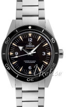 Omega Seamaster Diver 300m Master Co-Axial 41mm Musta/Teräs