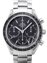 Omega Speedmaster Racing Co-Axial Chronograph 40mm Musta/Teräs