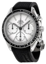 Omega Speedmaster Racing Co-Axial Chronograph 40mm Valkoinen/Kum