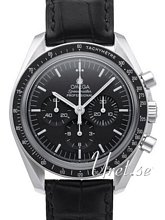 Omega Speedmaster Moonwatch Professional 42mm Musta/Nahka