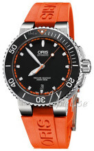 Oris Diving Musta/Kumi Ø43 mm