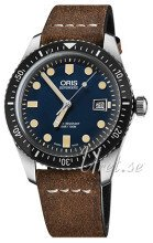 Oris Diving Sininen/Nahka Ø42 mm