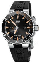 Oris Diving Musta/Kumi Ø46 mm