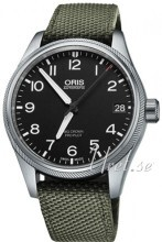 Oris Oris Aviation Musta/Tekstiili Ø41 mm