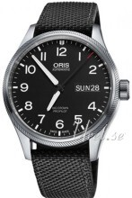 Oris Oris Aviation Musta/Tekstiili Ø45 mm