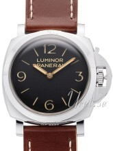 Panerai Historic Luminor 1950 3 Days Musta/Nahka Ø47 mm