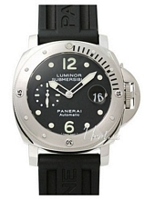 Panerai Contemporary Luminor Submersible Musta/Kumi Ø44 mm