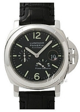Panerai Contemporary Luminor Power Reserve Musta/Nahka Ø44 mm