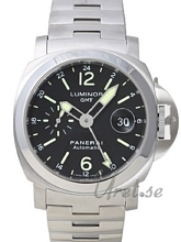 Panerai Contemporary Luminor GMT Musta/Teräs Ø44 mm