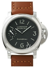 Panerai Historic Luminor Marina Musta/Nahka Ø44 mm