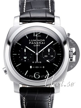 Panerai Special Luminor 8 Days GMT Chrono Monopulsante Musta/Na