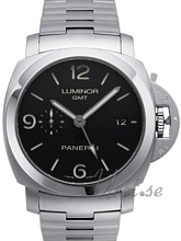 Panerai Manifattura Luminor Marina 3 Days GMT Black Dial