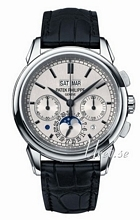 Patek Philippe Grand Complications Silver Dial Leather