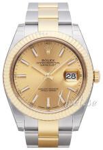 Rolex Datejust41 Kullattu/18K keltakultaa