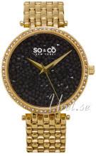 So & Co New York SoHo Kristalleilla/Kullansävytetty teräs Ø38 mm