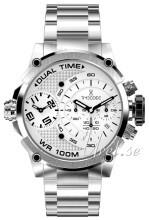 Timecode Valkoinen/Teräs