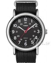 Timex Weekender Musta/Teräs