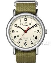 Timex Weekender Beige/Teräs