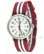 Timex Weekender Valkoinen/Teräs